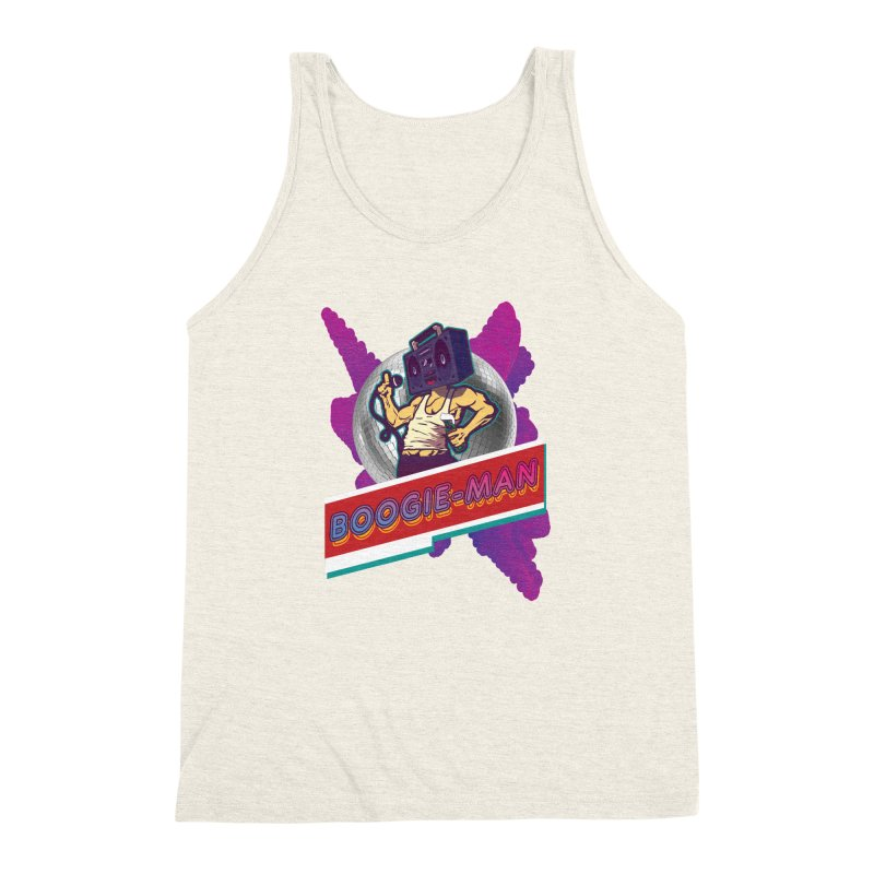 The Boogie-Man Men's Triblend Tank by Swag Stop by justsaying.ASIA
