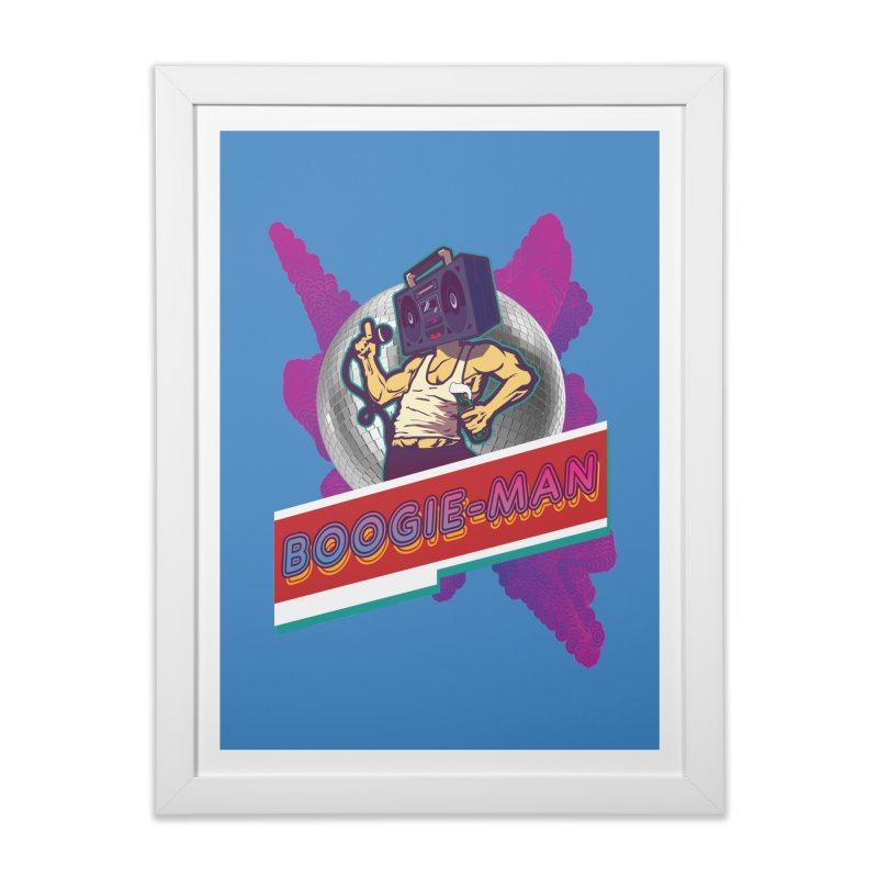 The Boogie-Man Home Framed Fine Art Print by Swag Stop by justsaying.ASIA