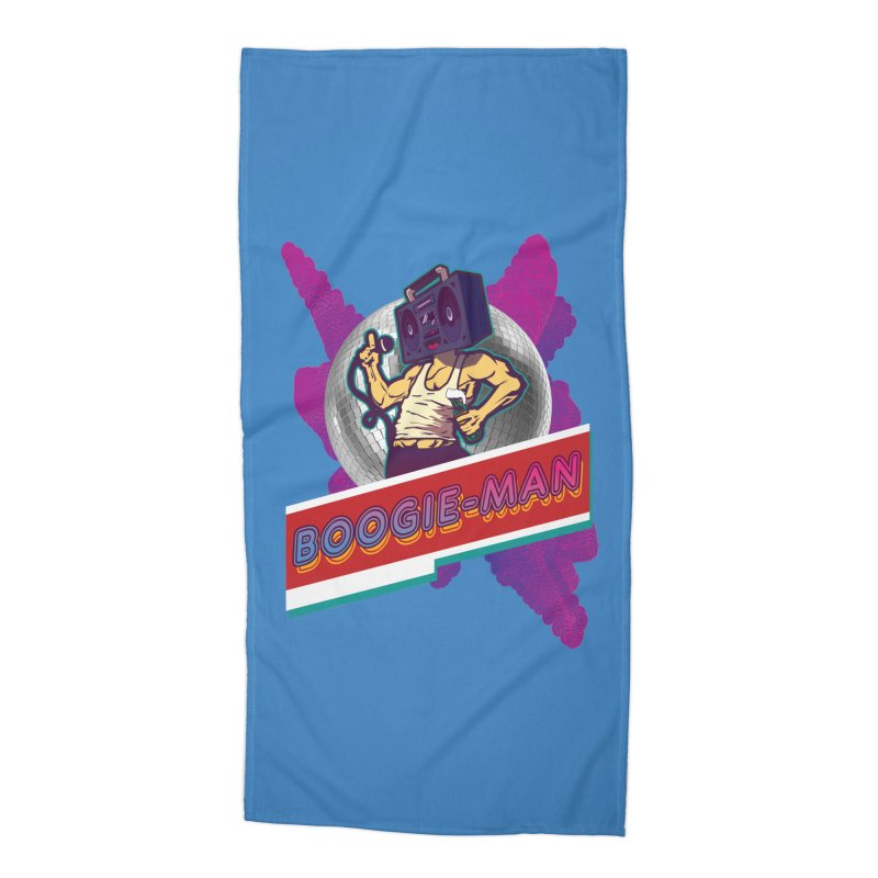 The Boogie-Man Accessories Beach Towel by Swag Stop by justsaying.ASIA