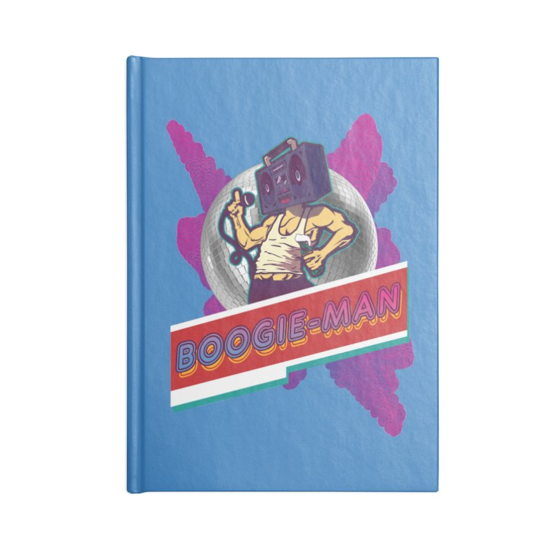 The Boogie-Man Accessories Blank Journal Notebook by Swag Stop by justsaying.ASIA