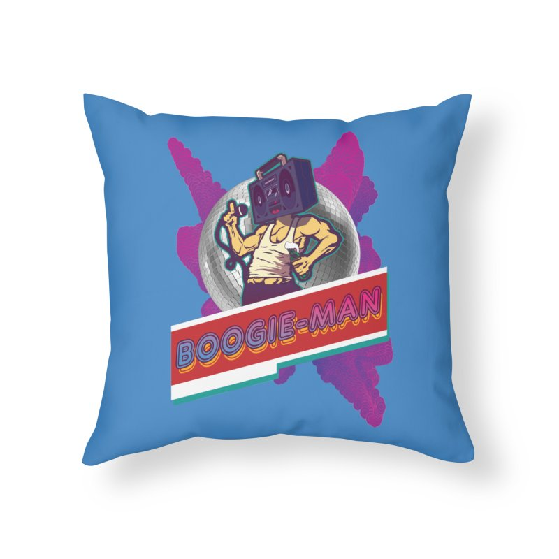 The Boogie-Man Home Throw Pillow by Swag Stop by justsaying.ASIA