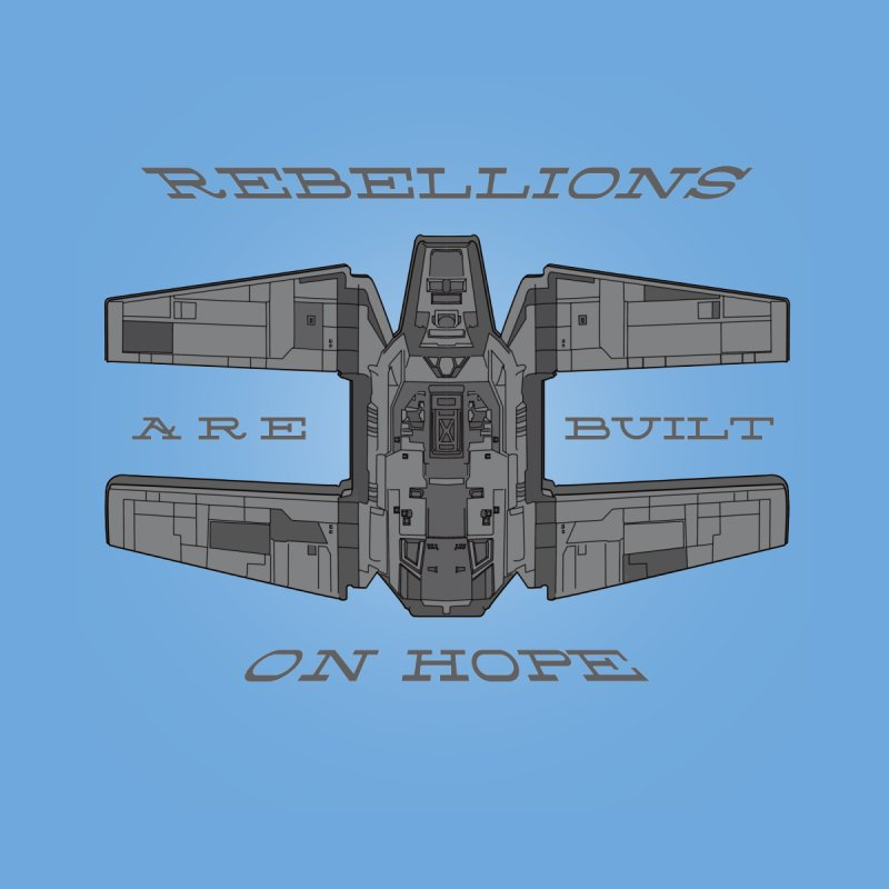 Rebellions Are Built On Hope Kids T-Shirt by Swag Stop by justsaying.ASIA