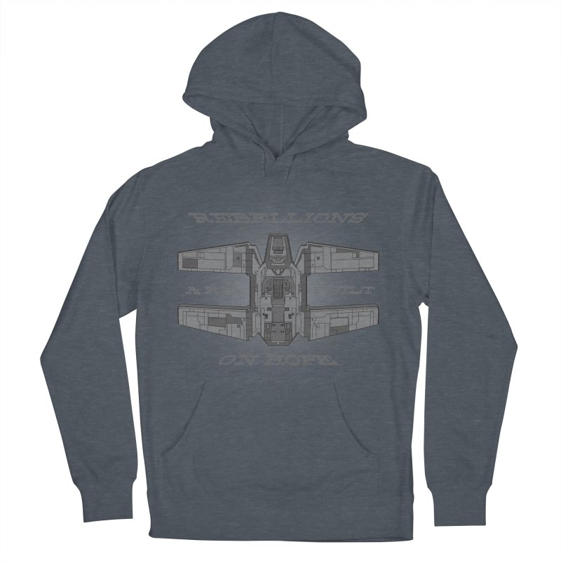Rebellions Are Built On Hope Women's French Terry Pullover Hoody by Swag Stop by justsaying.ASIA
