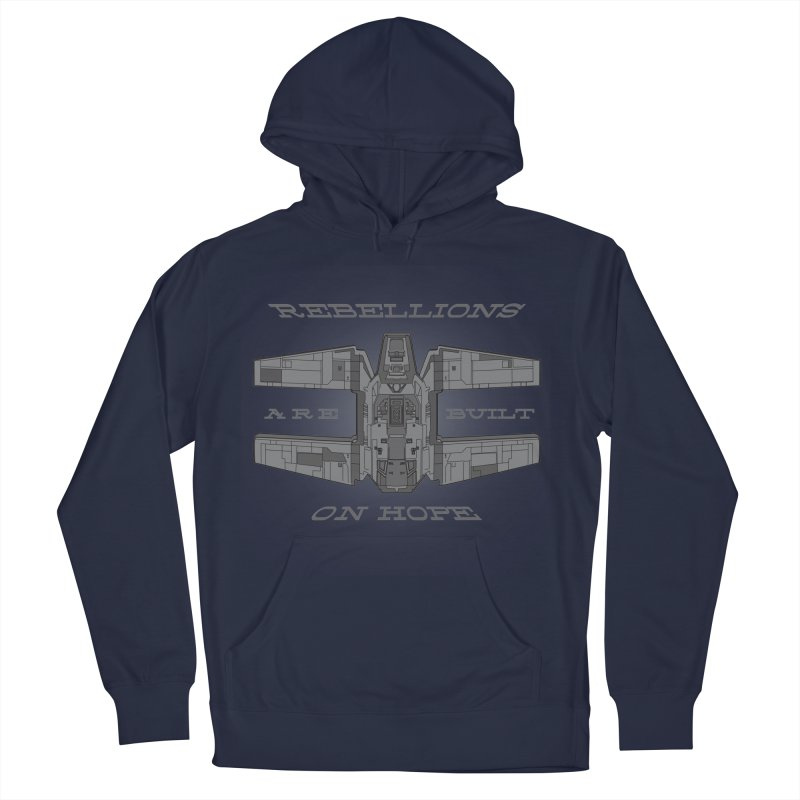 Rebellions Are Built On Hope Men's French Terry Pullover Hoody by Swag Stop by justsaying.ASIA