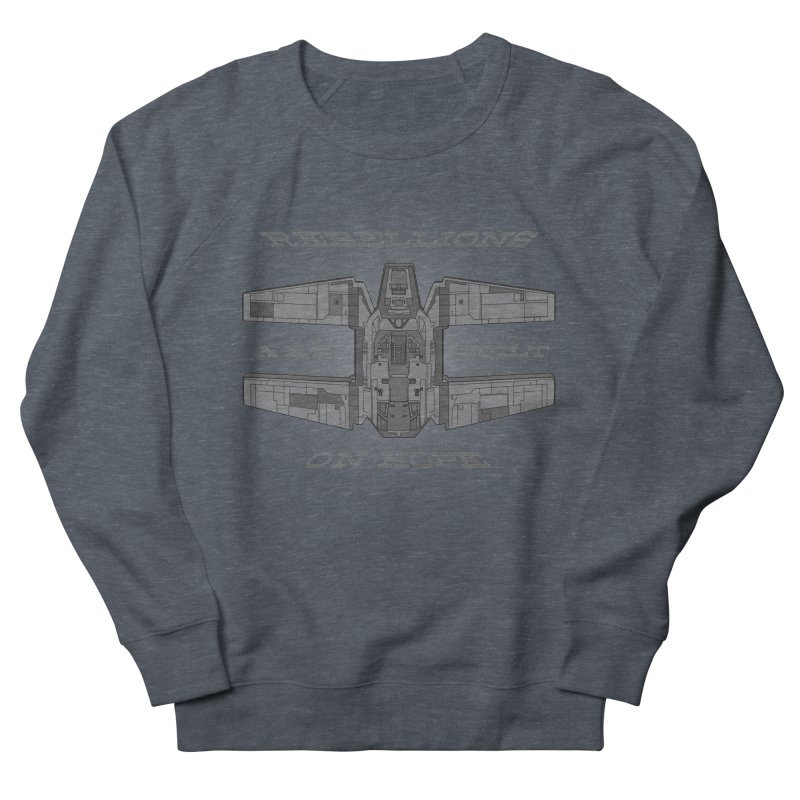 Rebellions Are Built On Hope Men's French Terry Sweatshirt by Swag Stop by justsaying.ASIA