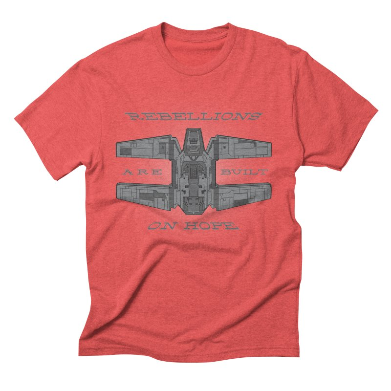 Rebellions Are Built On Hope Men's Triblend T-shirt by Swag Stop by justsaying.ASIA