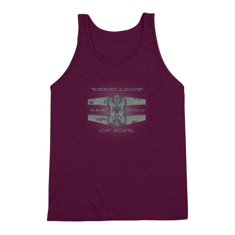 Rebellions Are Built On Hope Men's Triblend Tank by Swag Stop by justsaying.ASIA