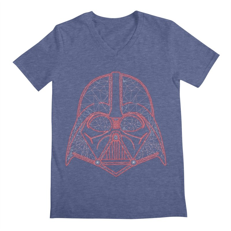 Dark Lord of Disco Men's Regular V-Neck by Swag Stop by justsaying.ASIA