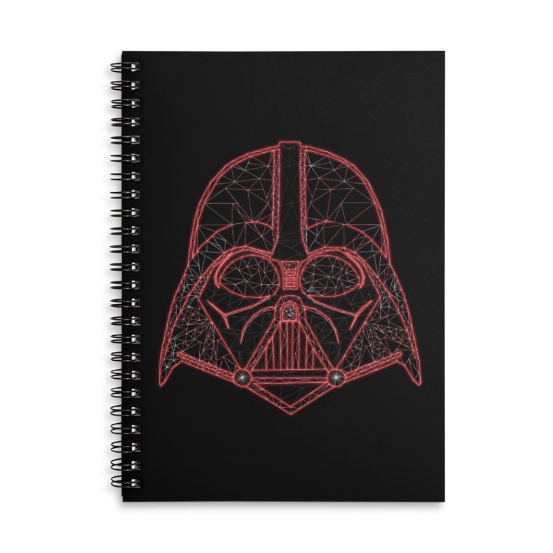 Dark Lord of Disco Accessories Lined Spiral Notebook by Swag Stop by justsaying.ASIA