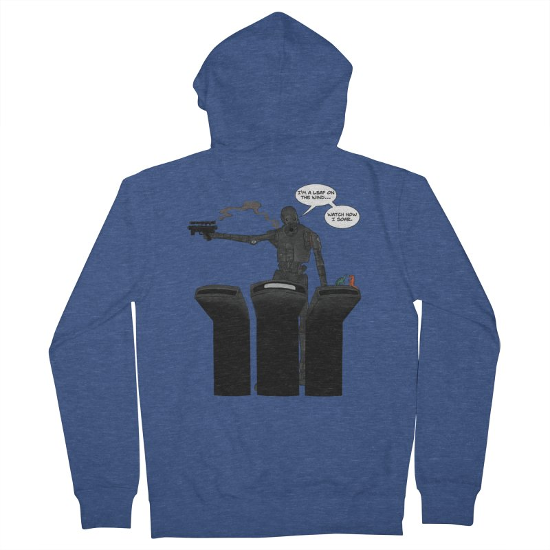 Watch Me Soar Men's Zip-Up Hoody by Swag Stop by justsaying.ASIA