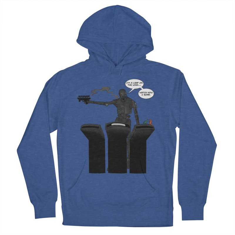 Watch Me Soar Men's French Terry Pullover Hoody by Swag Stop by justsaying.ASIA