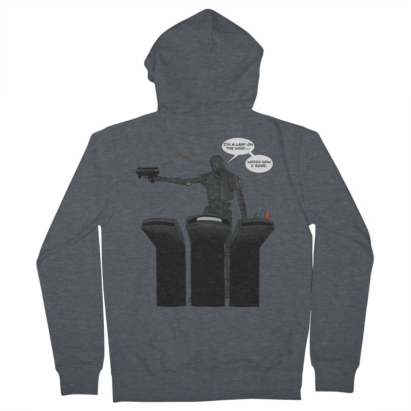 Watch Me Soar Women's French Terry Zip-Up Hoody by Swag Stop by justsaying.ASIA