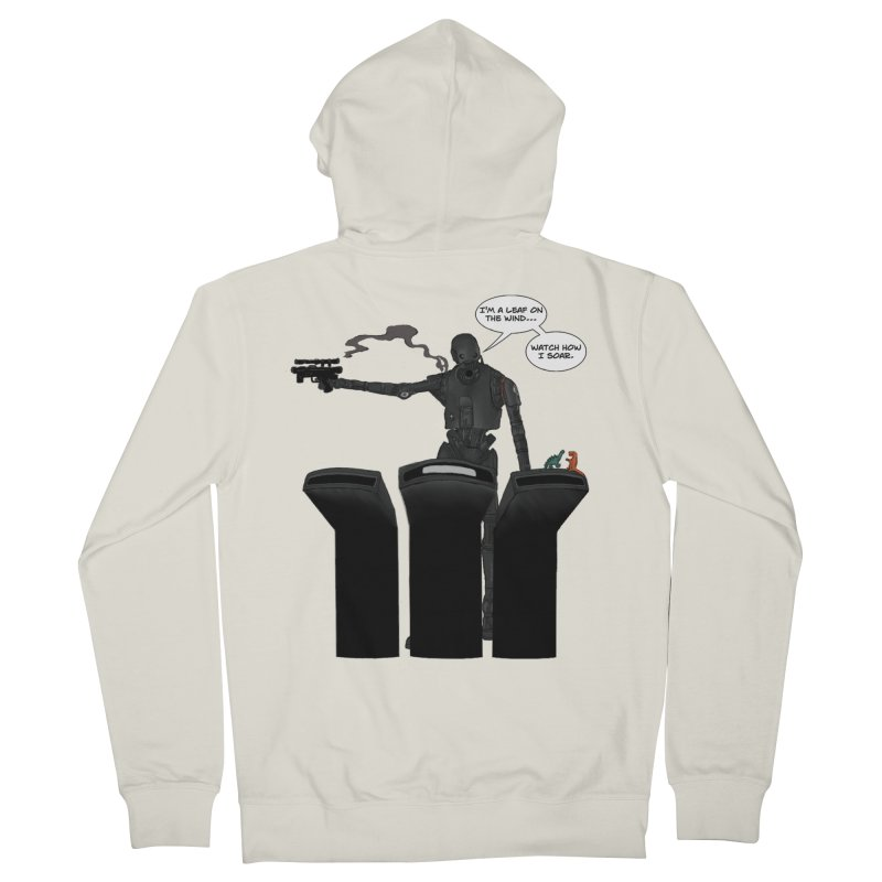 Watch Me Soar Men's French Terry Zip-Up Hoody by Swag Stop by justsaying.ASIA