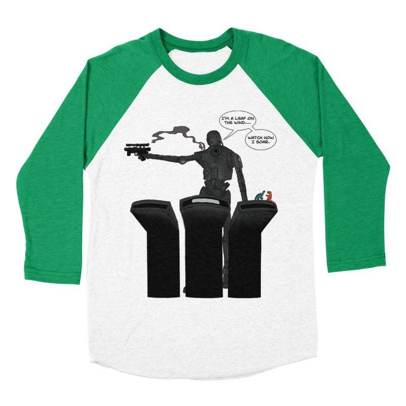 Watch Me Soar Men's Baseball Triblend Longsleeve T-Shirt by Swag Stop by justsaying.ASIA