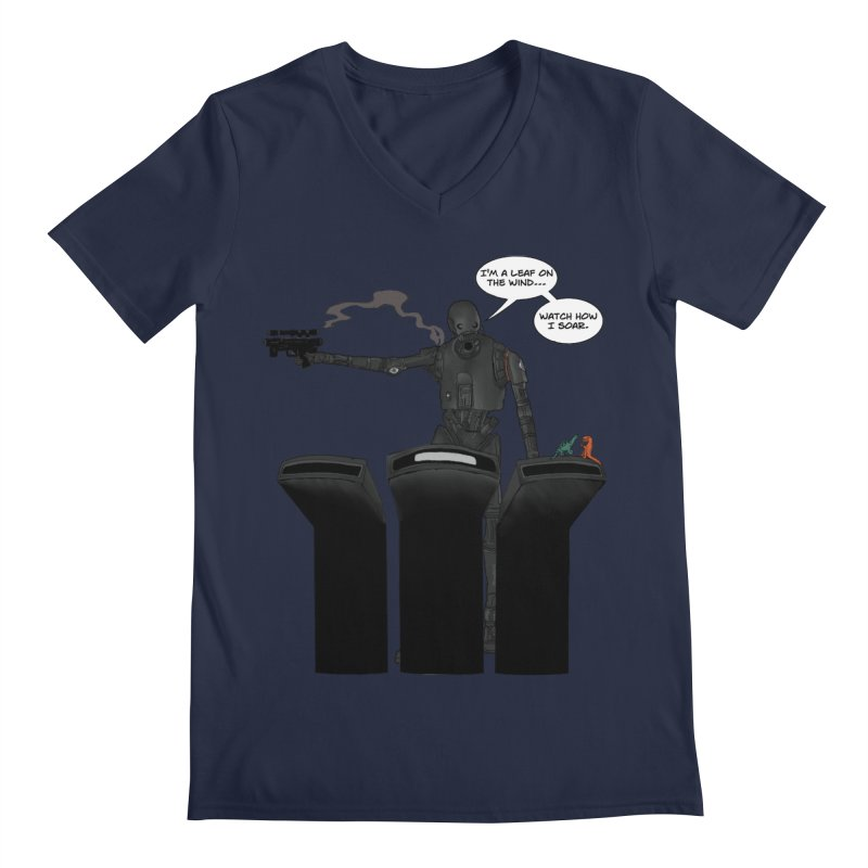 Watch Me Soar Men's V-Neck by Swag Stop by justsaying.ASIA