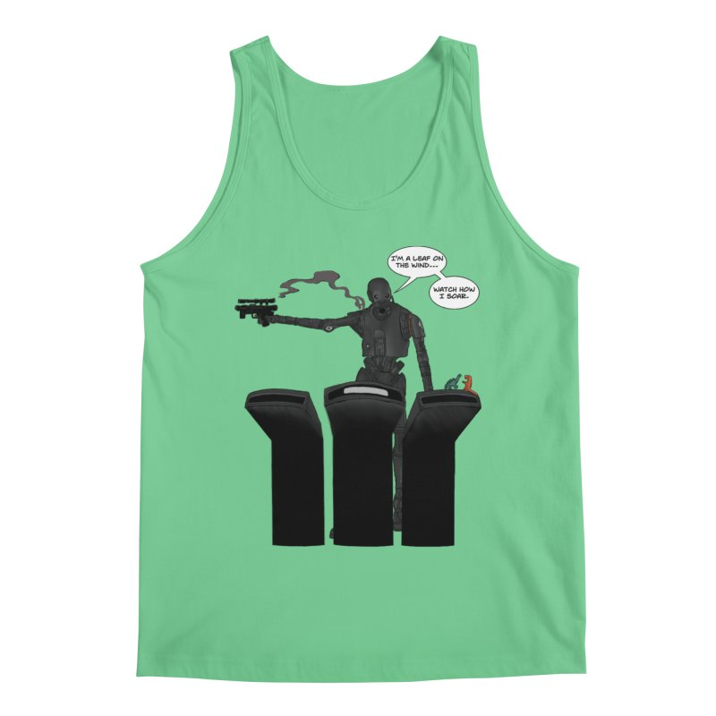 Watch Me Soar Men's Regular Tank by Swag Stop by justsaying.ASIA
