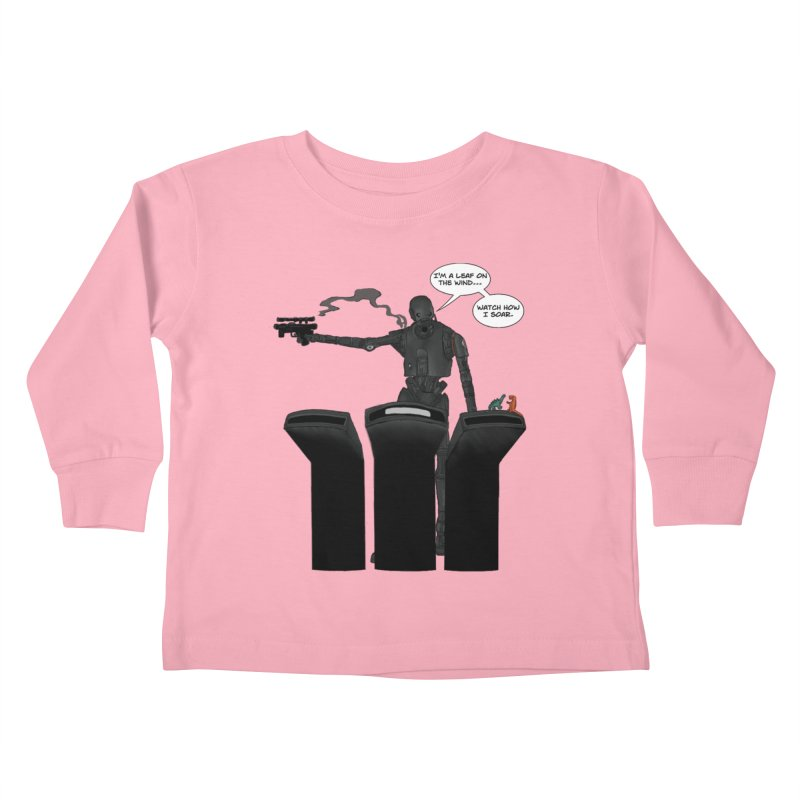 Watch Me Soar Kids Toddler Longsleeve T-Shirt by Swag Stop by justsaying.ASIA