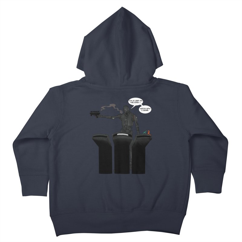 Watch Me Soar Kids Toddler Zip-Up Hoody by Swag Stop by justsaying.ASIA