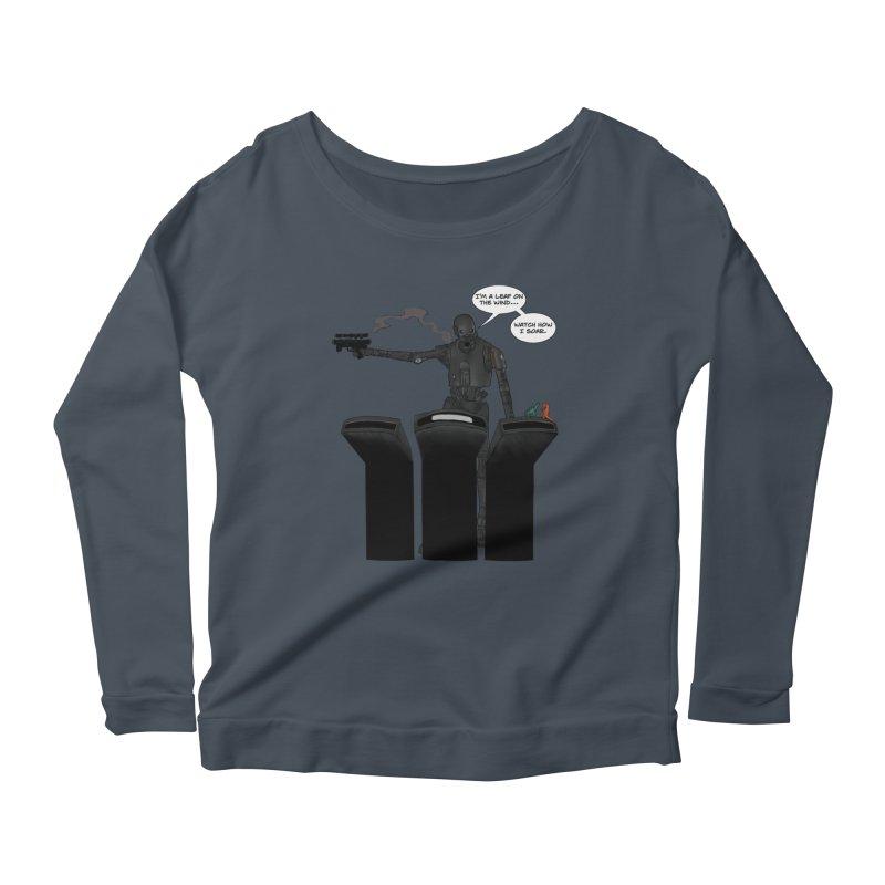 Watch Me Soar Women's Scoop Neck Longsleeve T-Shirt by Swag Stop by justsaying.ASIA