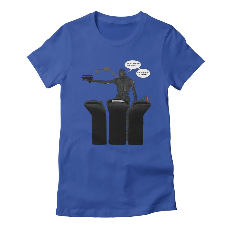 Watch Me Soar Women's Fitted T-Shirt by Swag Stop by justsaying.ASIA