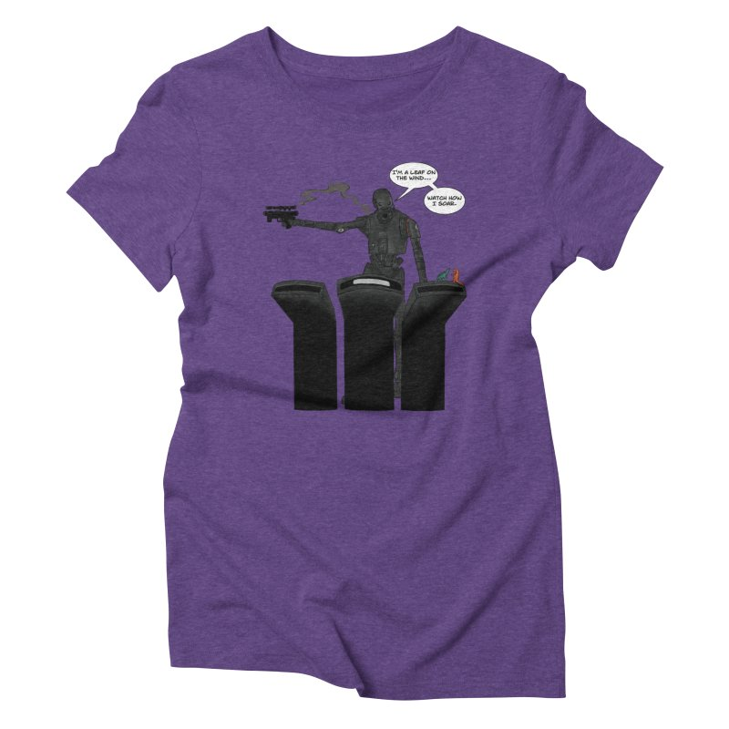 Watch Me Soar Women's Triblend T-Shirt by Swag Stop by justsaying.ASIA