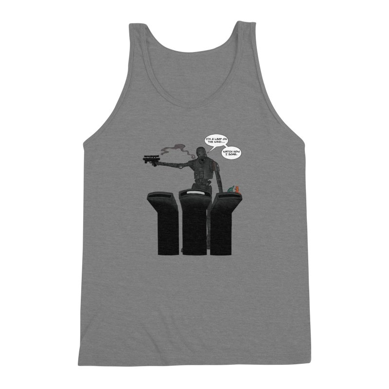 Watch Me Soar Men's Triblend Tank by Swag Stop by justsaying.ASIA