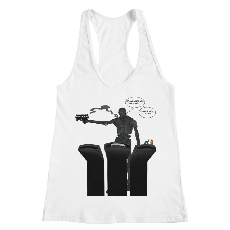 Watch Me Soar Women's Racerback Tank by Swag Stop by justsaying.ASIA