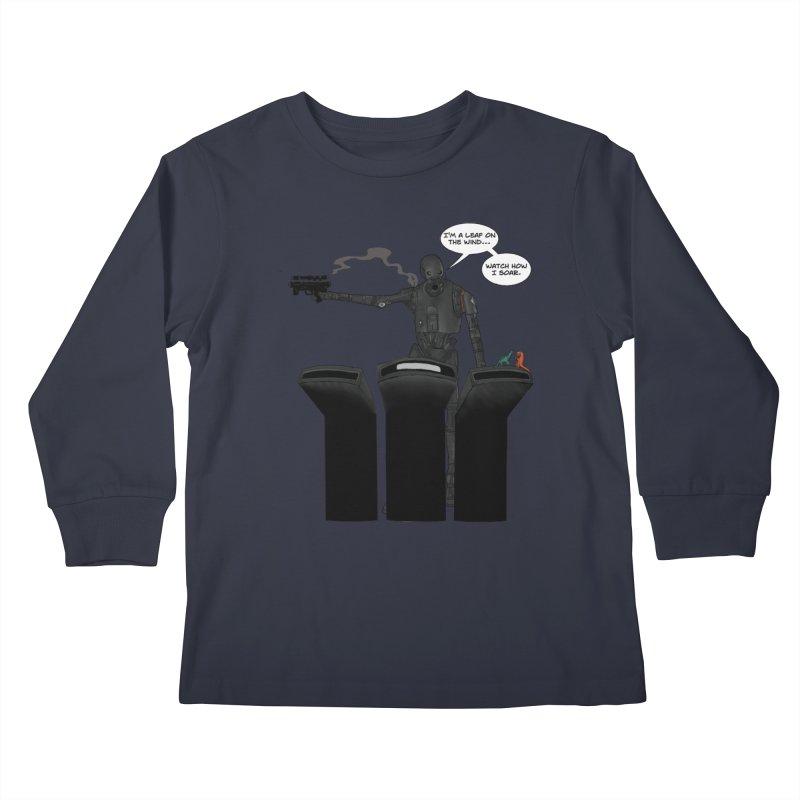 Watch Me Soar Kids Longsleeve T-Shirt by Swag Stop by justsaying.ASIA