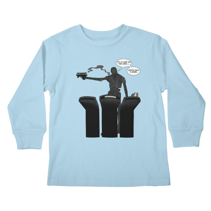Watch Me Soar Kids Longsleeve T-Shirt by Swag Stop by justsaying.ASIA
