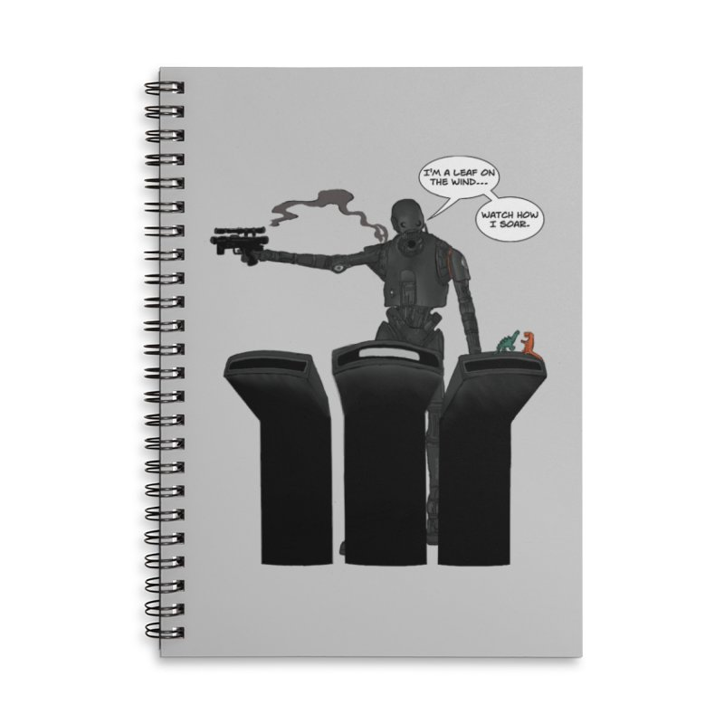 Watch Me Soar Accessories Lined Spiral Notebook by Swag Stop by justsaying.ASIA