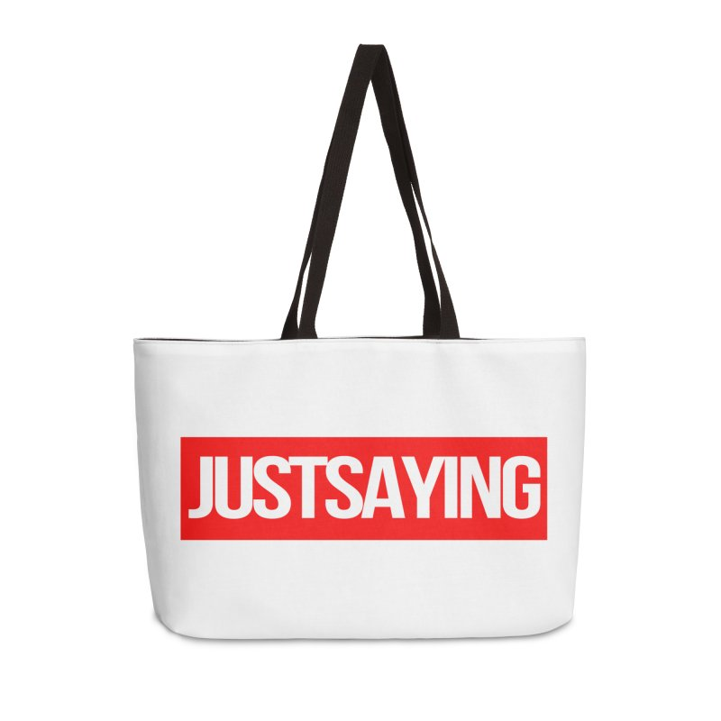 I'm Just Saying Accessories Bag by Swag Stop by justsaying.ASIA