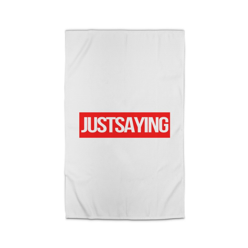 I'm Just Saying Home Rug by Swag Stop by justsaying.ASIA