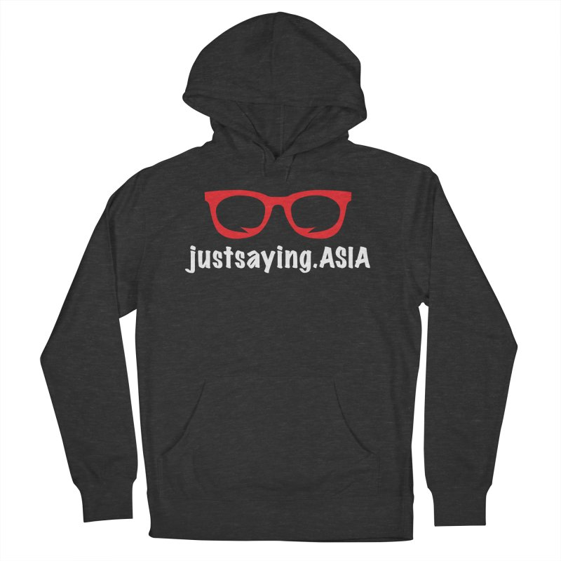 justsaying.ASIA Emblem Men's Pullover Hoody by Swag Stop by justsaying.ASIA