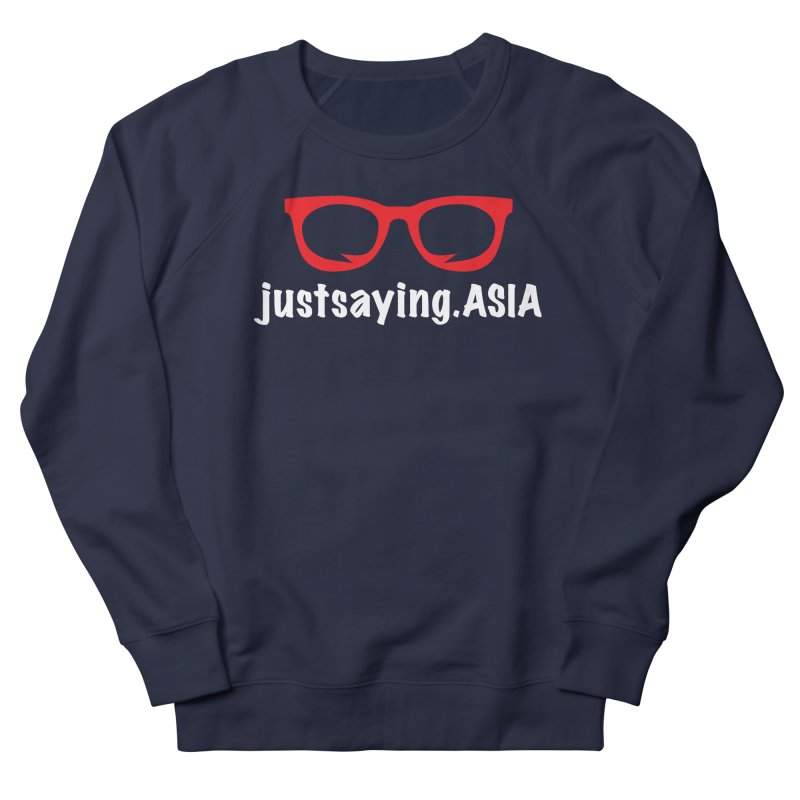justsaying.ASIA Emblem Women's Sweatshirt by Swag Stop by justsaying.ASIA