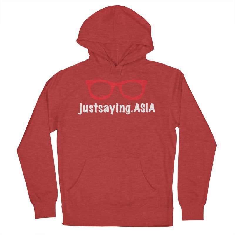 justsaying.ASIA Emblem Women's French Terry Pullover Hoody by Swag Stop by justsaying.ASIA