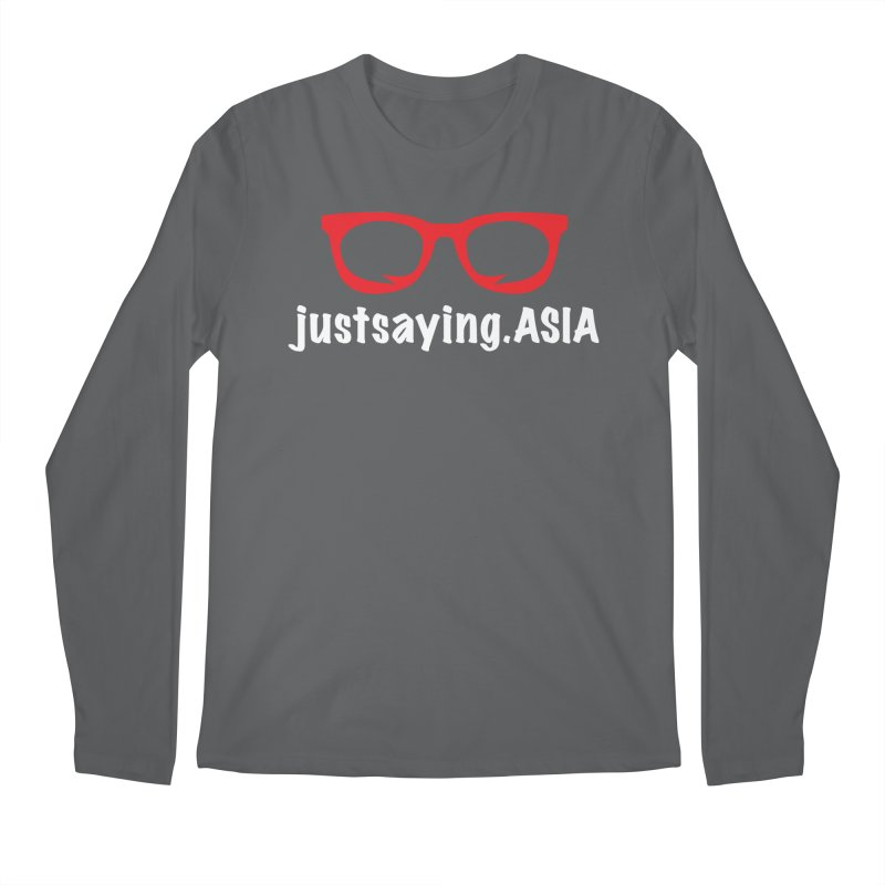 justsaying.ASIA Emblem Men's Longsleeve T-Shirt by Swag Stop by justsaying.ASIA