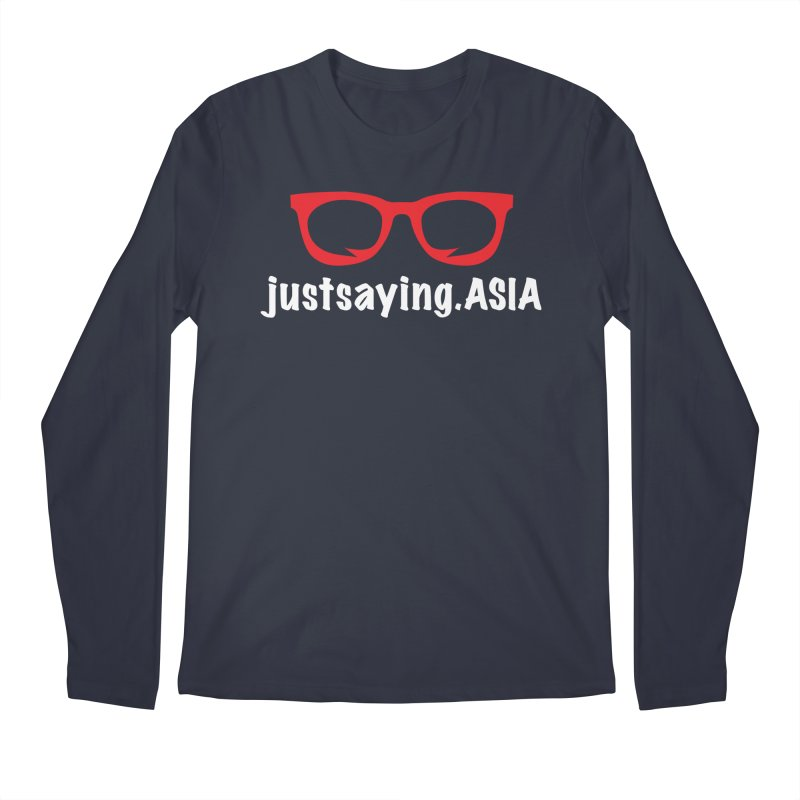 justsaying.ASIA Emblem Men's Regular Longsleeve T-Shirt by Swag Stop by justsaying.ASIA