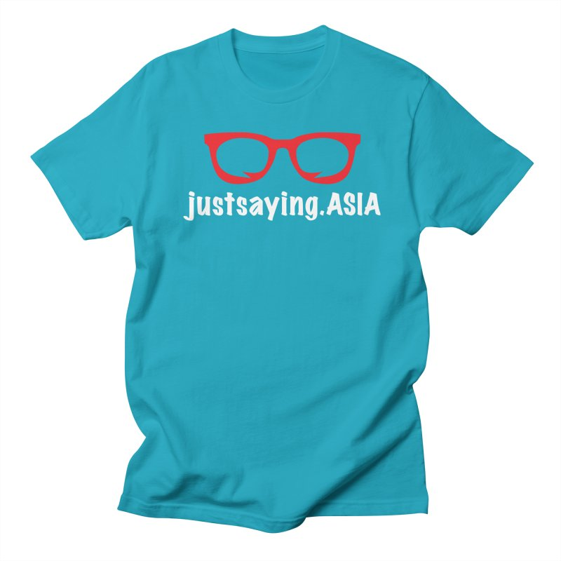 justsaying.ASIA Emblem Men's T-Shirt by Swag Stop by justsaying.ASIA