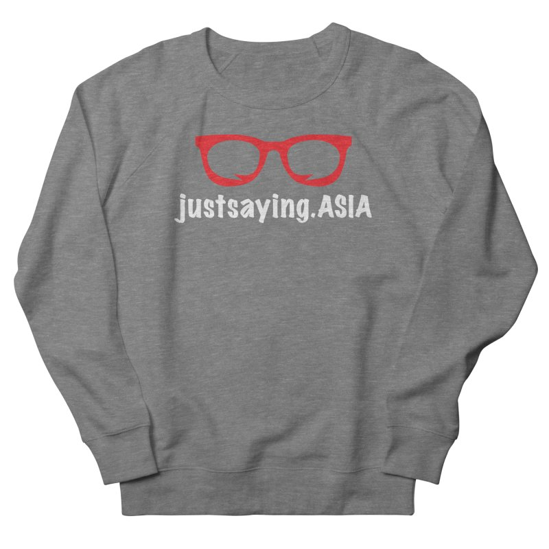 justsaying.ASIA Emblem Women's Sweatshirt by Swag Stop by justsaying.ASIA