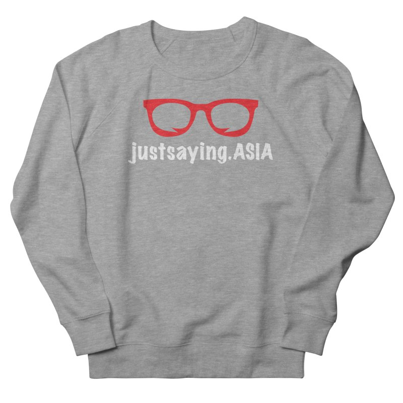 justsaying.ASIA Emblem Women's French Terry Sweatshirt by Swag Stop by justsaying.ASIA