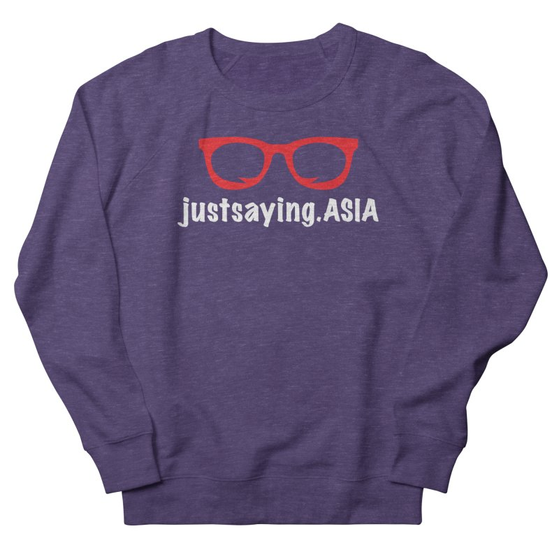 justsaying.ASIA Emblem Men's French Terry Sweatshirt by Swag Stop by justsaying.ASIA