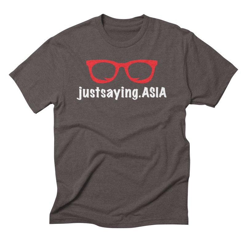 justsaying.ASIA Emblem Men's Triblend T-Shirt by Swag Stop by justsaying.ASIA