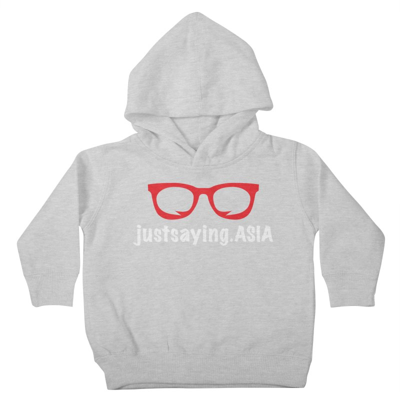 justsaying.ASIA Emblem Kids Toddler Pullover Hoody by Swag Stop by justsaying.ASIA