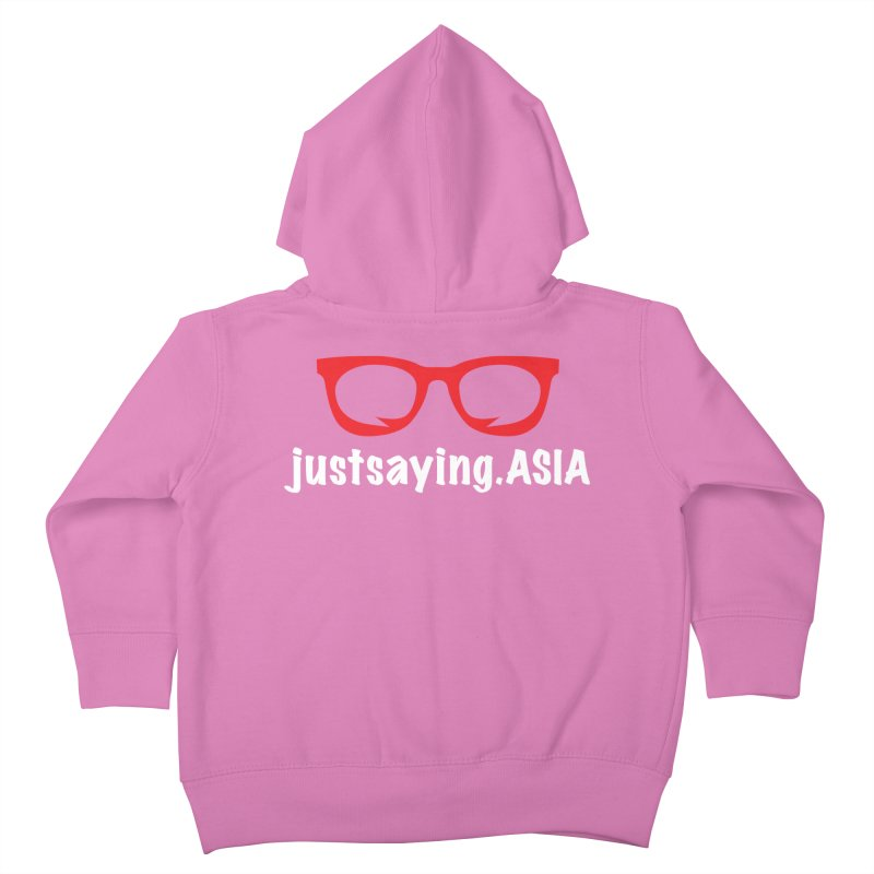 justsaying.ASIA Emblem Kids Toddler Zip-Up Hoody by Swag Stop by justsaying.ASIA