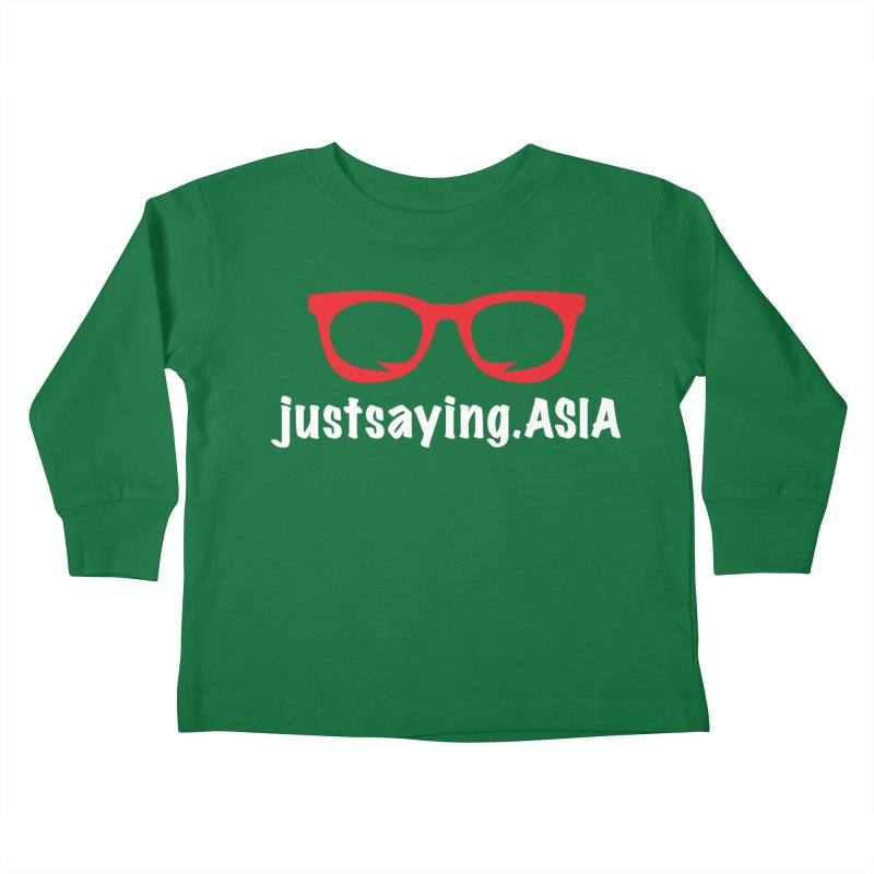justsaying.ASIA Emblem Kids Toddler Longsleeve T-Shirt by Swag Stop by justsaying.ASIA