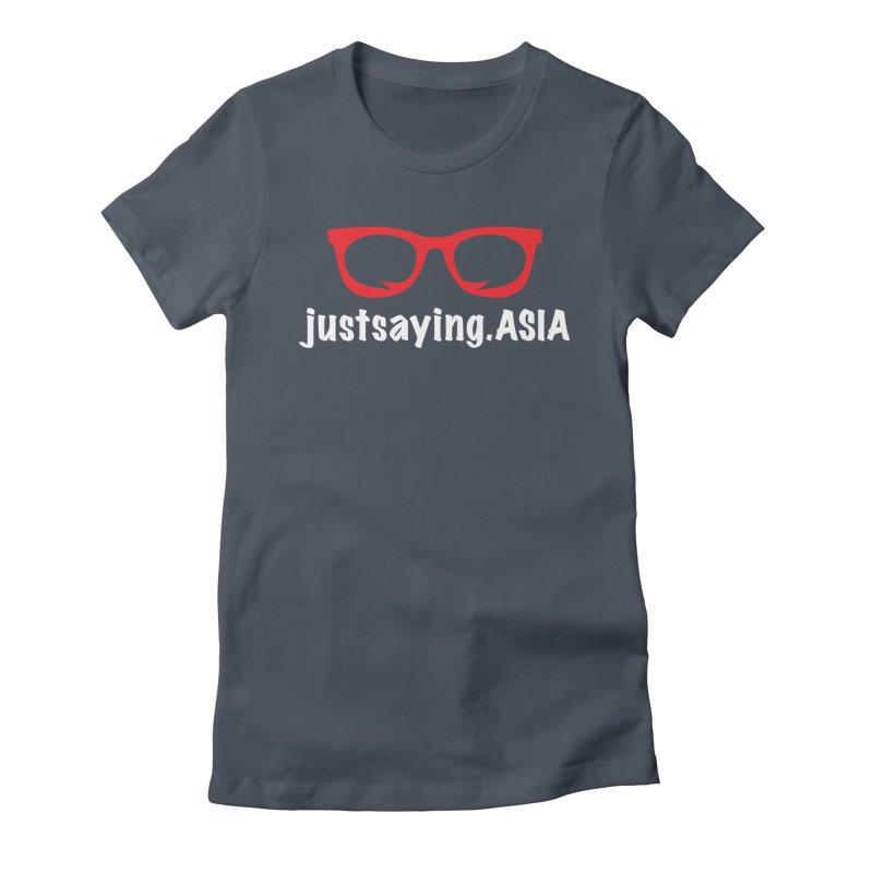 justsaying.ASIA Emblem Women's Fitted T-Shirt by Swag Stop by justsaying.ASIA