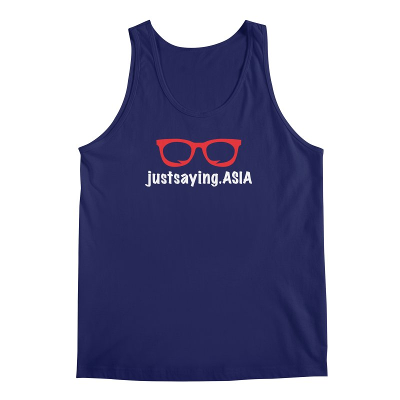 justsaying.ASIA Emblem Men's Regular Tank by Swag Stop by justsaying.ASIA