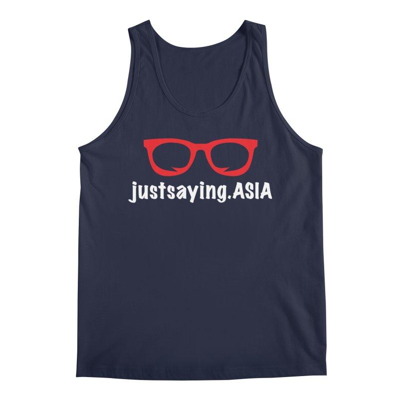 justsaying.ASIA Emblem Men's Regular Tank by Swag Stop by justsaying.ASIA