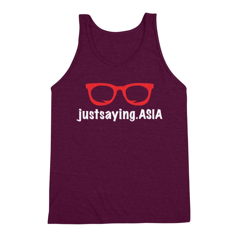 justsaying.ASIA Emblem Men's Tank by Swag Stop by justsaying.ASIA