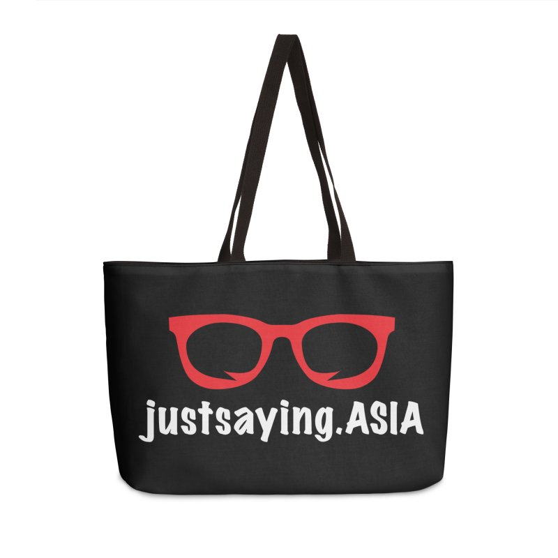 justsaying.ASIA Emblem Accessories Weekender Bag Bag by Swag Stop by justsaying.ASIA